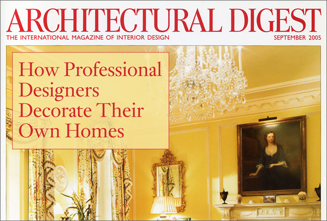 Gallery For > Architectural Digest Logo